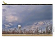 Winter Water Tower Sky Carry-all Pouch