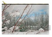 Winter Woods Carry-all Pouch by Joann Vitali