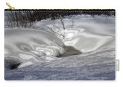 Winter's Satin Blanket Carry-all Pouch
