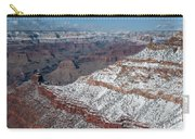 Winter's Touch At The Grand Canyon Carry-all Pouch