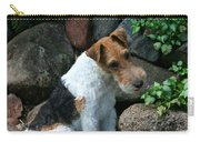 Wirehair Fox Terrier Carry-all Pouch