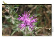 Wispy Thistle Carry-all Pouch