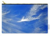 Wispy White Carry-all Pouch