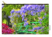 Wisteria And Japanese Bridge Carry-all Pouch
