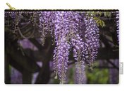 Wisteria Droplets Carry-all Pouch
