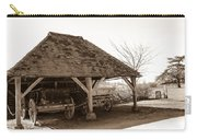 Wiston Wagon Shed Carry-all Pouch by Dawn OConnor