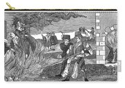 Witch Burning, 1555 Carry-all Pouch by Granger