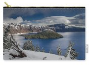 Wizard Island After Summer Snowfall Carry-all Pouch