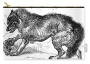 Wolf Attack Carry-all Pouch