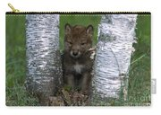 Wolf Pup Playing Peekaboo Carry-all Pouch