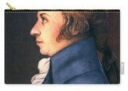 Wolfgang Amadeus Mozart Carry-all Pouch by Granger