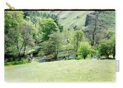 Wolfscote Dale From Gipsy Bank Carry-all Pouch
