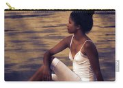 Woman At A Lake Carry-all Pouch by Joana Kruse