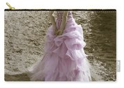 Woman At The Beach Carry-all Pouch