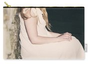 Woman In An Alley Carry-all Pouch by Joana Kruse