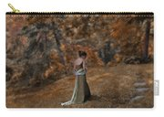 Woman In Green Gown  Carry-all Pouch