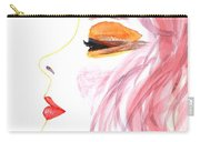Woman Inner Trust Watercolor Painting Carry-all Pouch