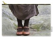 Woman Legs With Shoes Carry-all Pouch