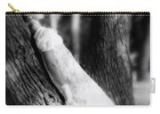 Woman On A Trunk Carry-all Pouch by Joana Kruse