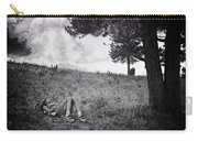 Woman On The Hill Carry-all Pouch
