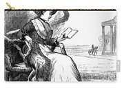 Woman Reading, 1876 Carry-all Pouch