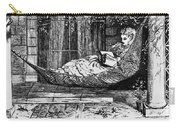 Woman Reading, C1873 Carry-all Pouch