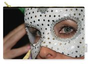 Woman With Mask Carry-all Pouch