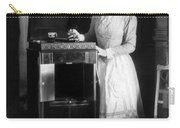 Woman With Phonograph 1908 Carry-all Pouch