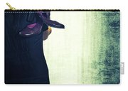 Woman With Shoes Carry-all Pouch by Joana Kruse
