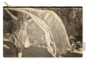Woman With Veil Carry-all Pouch by Joana Kruse