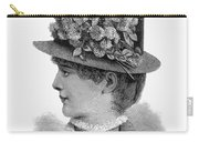 Womans Hat, 1883 Carry-all Pouch