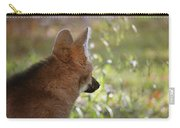 Wondering Wolf Carry-all Pouch