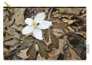 Wood Anemone - Anemone Quinquefolia Carry-all Pouch