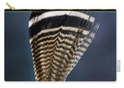Wood Duck Feather Carry-all Pouch