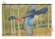 Wood Duck Flying Carry-all Pouch