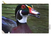 Wood Duck Portrait Carry-all Pouch