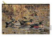 Wood Duck Trio Carry-all Pouch
