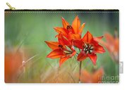 Wood Lily Carry-all Pouch