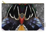 Wood Owl Carry-all Pouch
