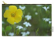 Wood Sorrel And Sandwort Carry-all Pouch