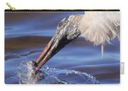 Wood Stork Fishing Carry-all Pouch