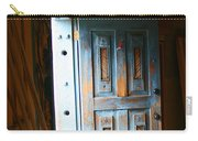 Wood Workers Door In Truchas New Mexico Carry-all Pouch