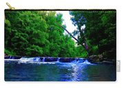 Wooded Waterfall Carry-all Pouch by Bill Cannon