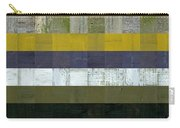 Wooden Abstract L Carry-all Pouch