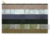 Wooden Abstract Lv Carry-all Pouch