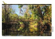 Wooden Bridge Over The Hillsborough River Carry-all Pouch