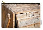 Wooden Crate Carry-all Pouch by Tom Gowanlock