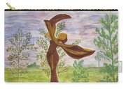 Wooden Femme Carry-all Pouch