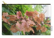 Wooden Hydrangea Carry-all Pouch