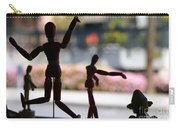Wooden Puppet Carry-all Pouch